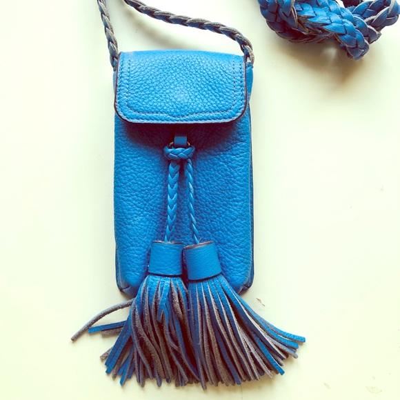 Rebecca Minkoff Handbags - Rebecca Minkoff Blue Phone Bag